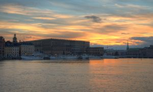An Evening on Skeppsholmen III by HenrikSundholm