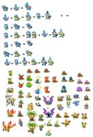 Old pokemon mixes by GroudonMcL