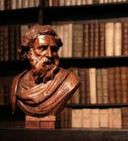 A Bust in the Library by barefootliam