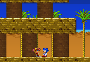 Ultimate Sonic - NPC Screen Shot by triplesonicX