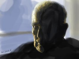 Portrait of an Old Man 2 by jazzjiang