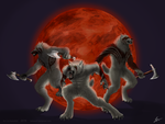 Warriors of the Bloodmoon by KeksWolf