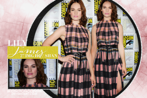 Photopack 7152 - Lily James by BestPhotopacksEverr