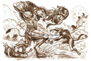 The MINOTAUR vs WEREWOLVES