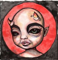 Baby Devil by LucyJOrchard