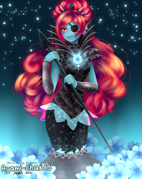 Undyne [Underkeep AU] by Ellioranthe
