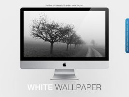 White Wallpaper by MrFolder