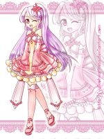 Pink Purple Girl - Auction - Open by YuikoHeartless