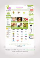 Webdesign for Baby Avenue by Amita-Gandhi