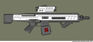 Flamberge CQS rifle, caseless by Robbe25