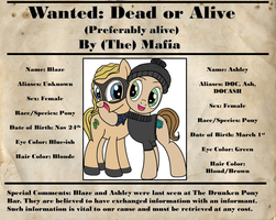 Wanted Alert! by DOC-Ash1391