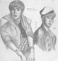 junhyung and kikwang by germaniac-brendalism