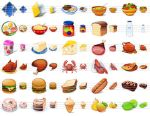 Desktop Buffet Icons by Ikonod