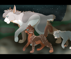 Ramstar Training His Sons by TwinSpirits