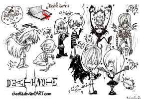 Death Note by Cheella