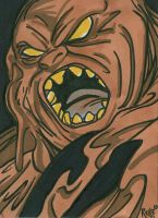 Sketchcard Clayface by RichBernatovech