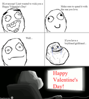 Rage Comic #2: Happy Valentine's Day! by FNaF-Crazed