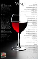Red House - Wine Menu by DatTran