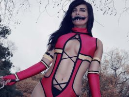 Mileena Cosplay by raquelsparrowcosplay