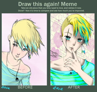B.M.  Before And After - 2012 by Yaoi-Master-Forever