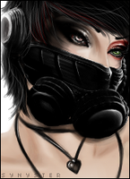Gas Mask by Le-Synyster