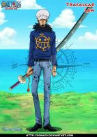 Trafalgar law (timeskip) After Punk Hazard Arc by donaco