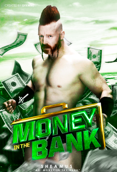 Mr. Money in the Bank Sheamus by GFXWWE