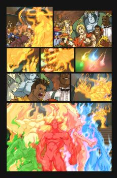 Fighting Evolution- PYRON by UdonCrew