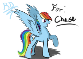 Rainbow Dash Quickdraw [Livestreamed] by Whibbleton
