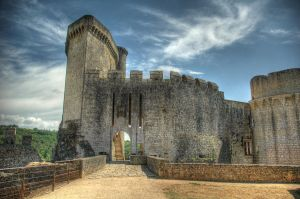Bonaguil castle 1 by johnpaul51