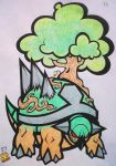 Pokemon - Torterra : Howls Moving Castle Remix by SpaceCowboy-D
