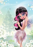 Pink, Spring Fairy by darkodordevic