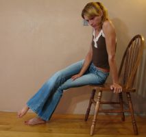 Danielle Denim Blue Jeans 07 by FantasyStock