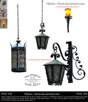 Baroque Lanterns by YBsilon-Stock by YBsilon-Stock