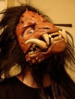 Boar monster mask hair by missmonster
