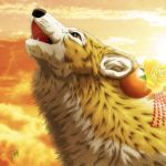 Wolf's howl by SheltieWolf