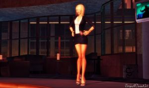 Amanda Evert Business Suit by bstylez