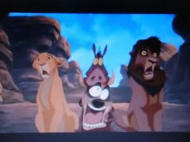 funny faces in Lion King II by Blue-Cheesecake
