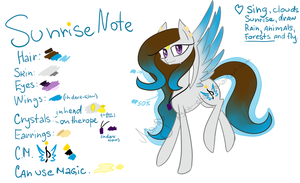 Sunrise Note by SunrisePLD