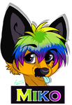 Badge trade with NerinSerene by Kirwick