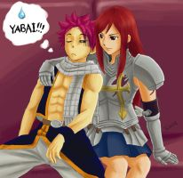 Natsu in Danger... by waklo99