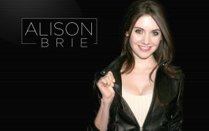 Alison Brie Wallpaper 1280px x 800px by papatom