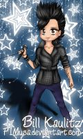 Chibi GQ Bill Kaulitz by F1Musa