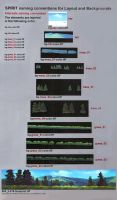 Scene Painting Breakdown for Traditional Animation by NathanFowkesArt