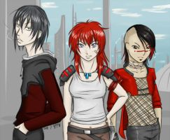 Tenth Street Reds by Adre-es