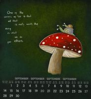 September Shroom by Adnil