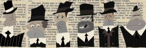 Newspaper Gangsters by Ashen7