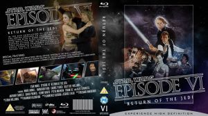 STAR WARS Episode VI Blu-ray cover by MrPacinoHead