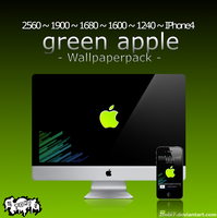 'greenapple' wallpaperpack by 2tobi7