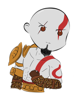 Request= Chibi Kratos by Aizu-chan